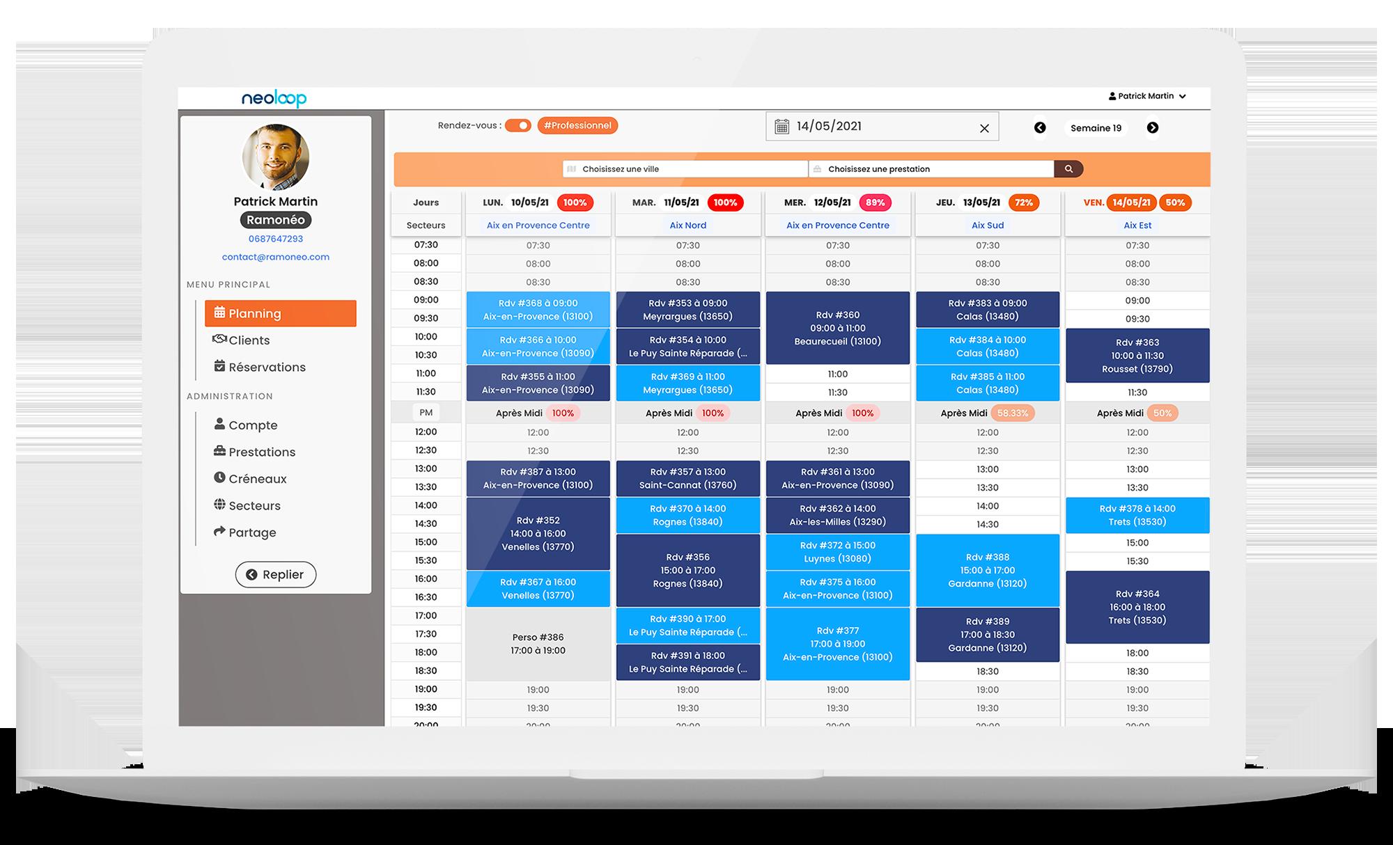 Neoloop Application Desktop